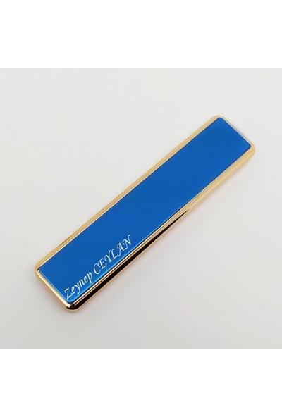 PerakendeShop Kişiye Isme Özel Lüks USB Şarjlı Alevsiz Elektronik Çakmak
