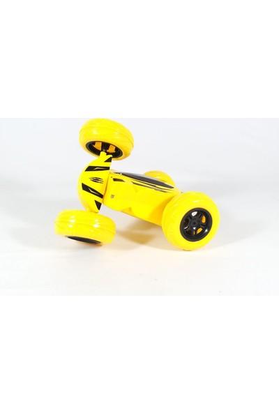 Can-Em Oyuncak Uzaktan Kumandalı Şarjlı Takla Atan Akrobat Oyuncak Araba