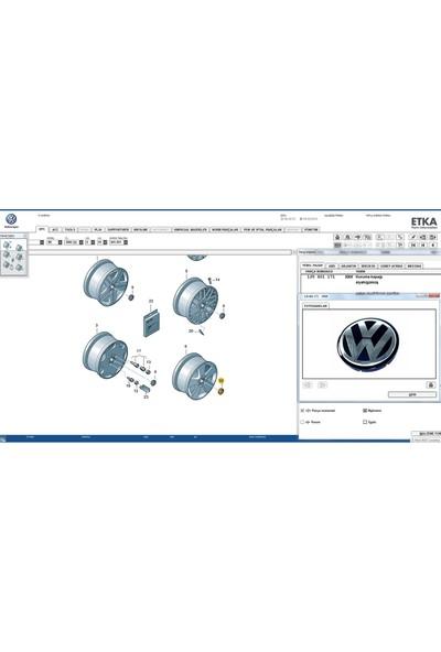 OEM Volkswagen Jant Göbeği 56 mm 1 Adet 1J0601171