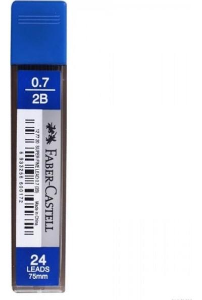 Faber Castell 0.7 Uç 5'li Paket + Silgi