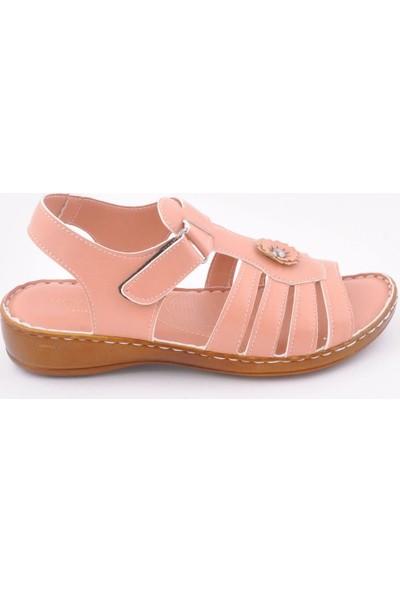 Wanetti SDT-1002 Pudra Kadın Sandalet