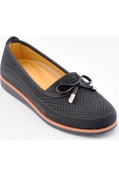 Wanetti ATM-188 Siyah Kadın Günlük Ayakkabı