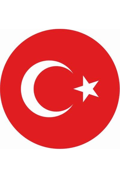 Sticker Atölyesi Türk Bayrağı Damla Sticker - 11030