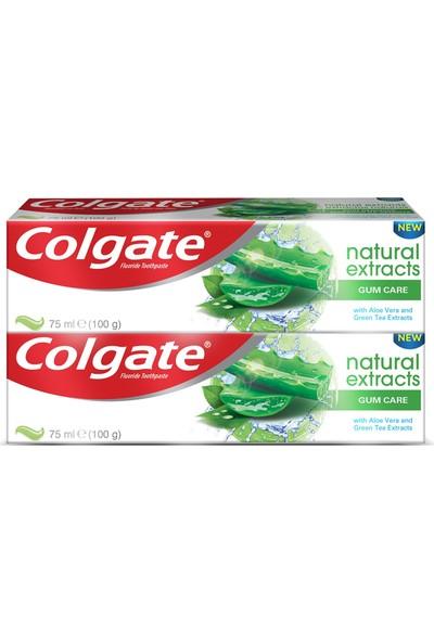 Colgate Natural Extracts Aloe Diş Macunu 75 ml x 2 Adet