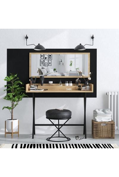 Seramood Süslü Aynalı Makyaj Masası