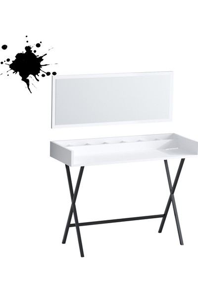 Seramood Şıkır Ayanlı Makyaj Masası