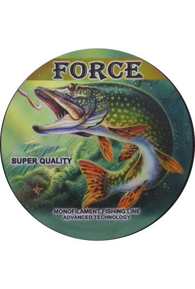 Effe Force Sazan Yayın Turna Alabalık Misinası 500 mt Yeşil