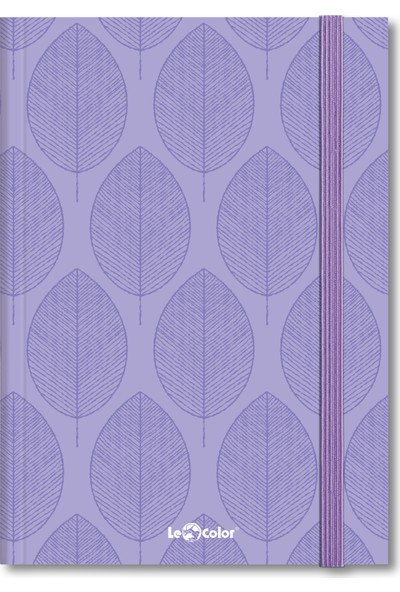 Le Color Esnek Kapak Defter Art Deco Çizgi 80 gr 192 Sayfa 17 x 24 cm