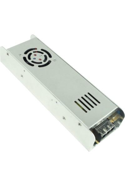 Ack 30 Amper Fanlı Ince Tip LED Trafosu AY02-03600