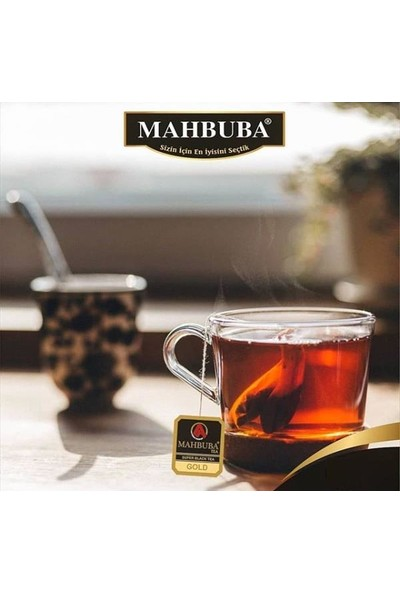 Mahbuba Gold Ceylon Sallama Poşet Çay 100x2gr