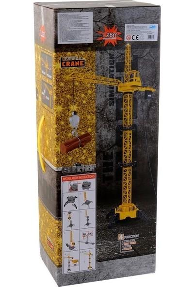 Mega Oyuncak Uzaktan Kumandalı Vinç Kule 128 cm