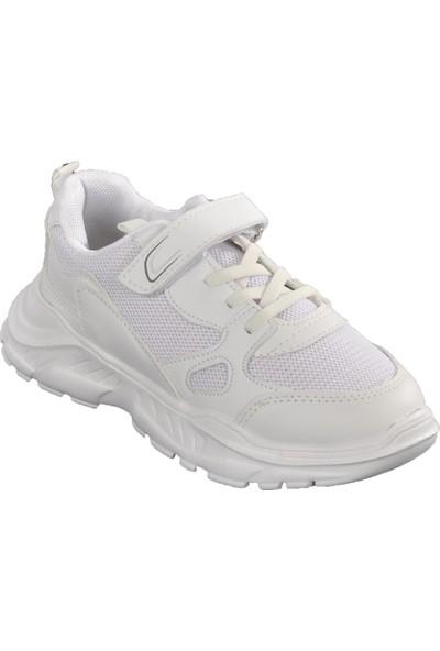 Cool 20-S06 Beyaz-Buz Çocuk Spor Ayakkabı