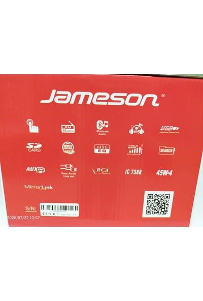 """Jameson JS-350 7"""" Double Din Mp5 Monitor LED Ekran Gece Görüş Kameralı Oto Teyp"""