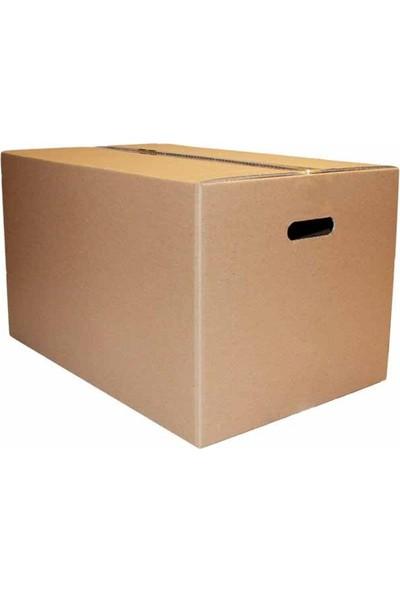 Morpack Gramajlı El Tutmalı Karton Taşıma Taşınma Kolisi 60 x 40 x 40 cm 5'li