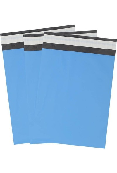 Morpack Kargo Poşeti 24 x 30 + 5 cm Mavi 1000'li