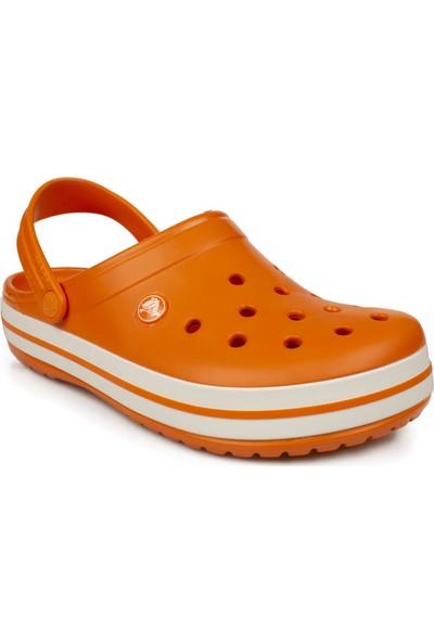 Crocs 11016 Crocband Turuncu Erkek Terlik