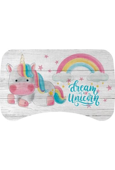 Popcorn Kids Dream Unicorn Sandalyeli Aktivite Masa Seti