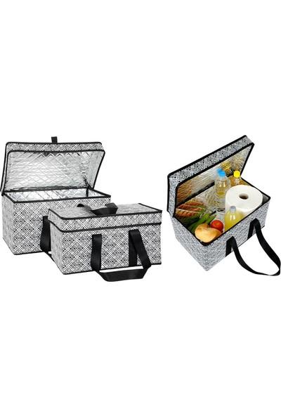Thermo Çok Amaçlı Piknik Çantası + 3 Adet Buz Aküsü