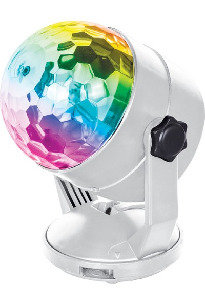 Mf Product Acoustic 0515 Led Işıklı Disko Topu