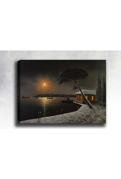 Shop365 İstanbul Kanvas Tablo 45 x 30 cm SB-57804