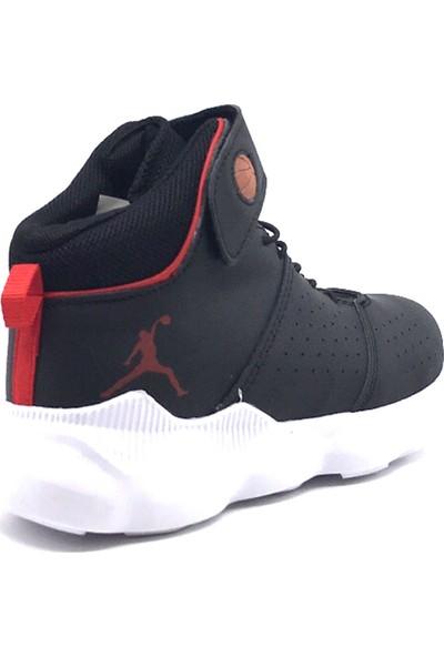 Ayakabımood Cool Filet Siyah Erkek Çocuk Basketbol Ayakkabısı