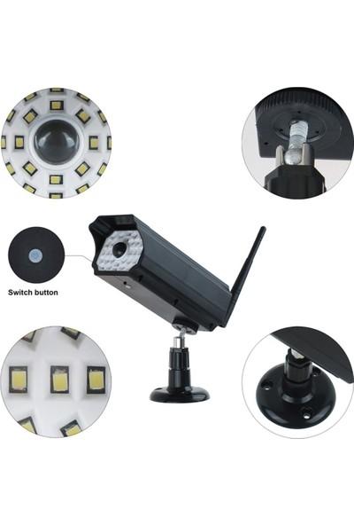 Sge Güneş Enerjili Hareket Sensörlü Sahte Kamera