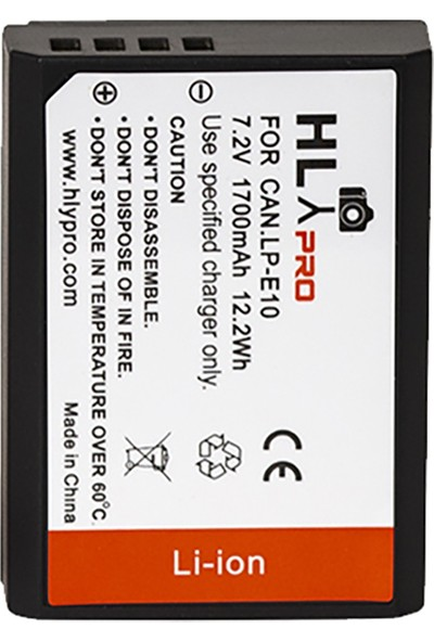 Hlypro Canon LP-E10 Batarya