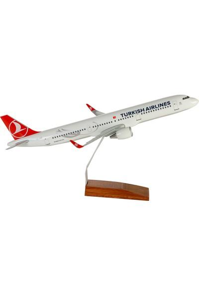 TK Collection Thy 1:160 Ölçekli 45 cm A321 Maket Uçak