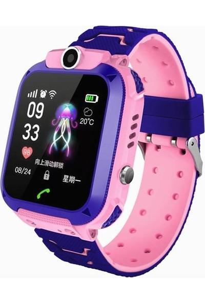 Smartbell Q540/2020 Sim Kartlı Akıllı Çocuk Saati - Pembe