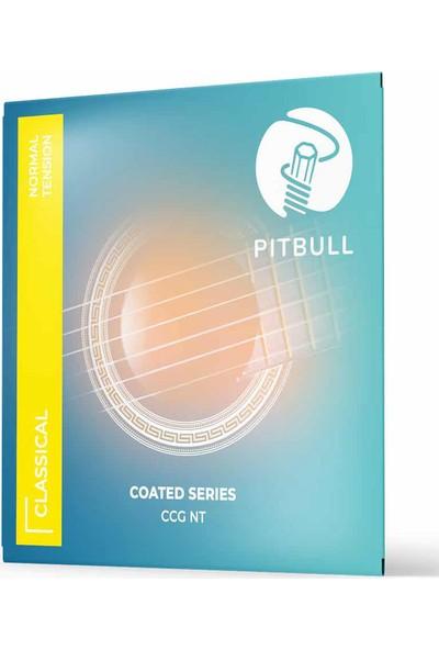Pitbull Strings Coated Series Ccg Nt Takım Tel Klasik Gitar Teli