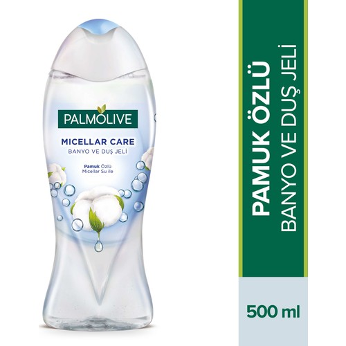 Palmolive Micellar Care Banyo ve Duş Jeli Pamuk Özlü 500 ml