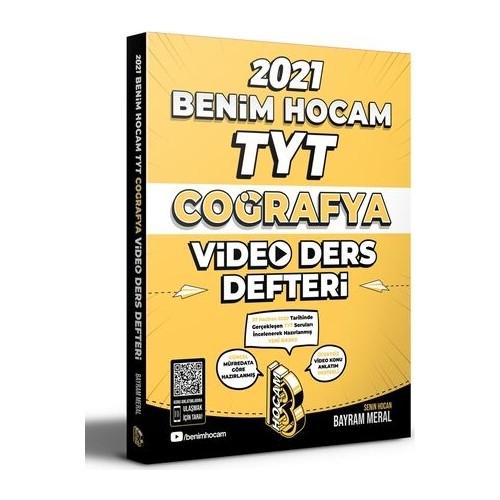Benim Hocam 2021 TYT Coğrafya Video Ders Defteri - Bayram Meral