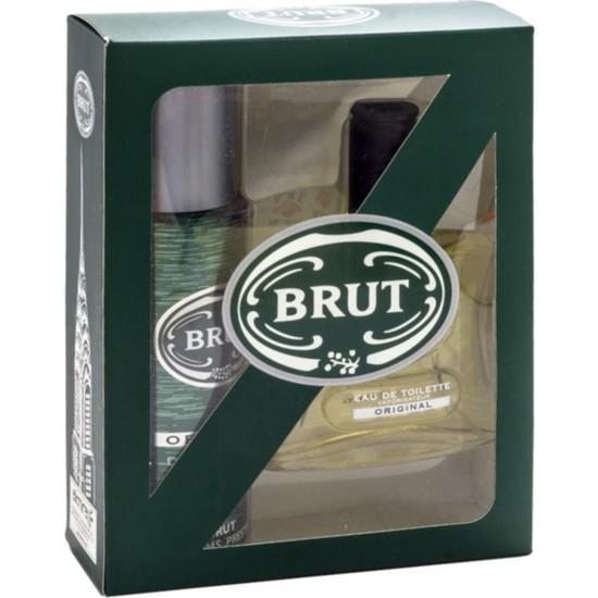 Brut Original Edt 100Ml Erkek Parfüm + 200 Ml Deodorant Set