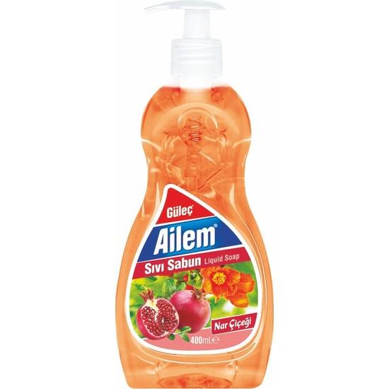 Güleç Ailem Sıvı El Sabunu 400 ml Turuncu