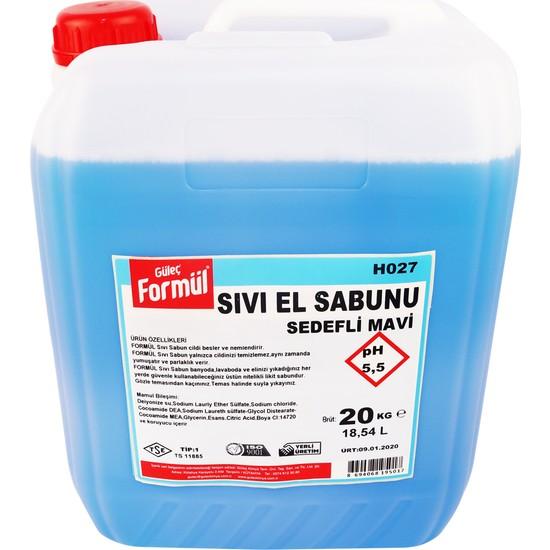 Güleç Sıvı El Sabunu Mavi Sedefli 20 kg