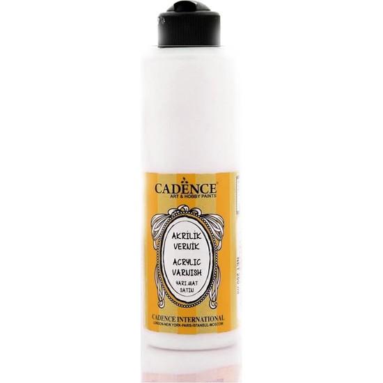 Cadence Su Bazlı Vernik Yarı Mat 250 ml