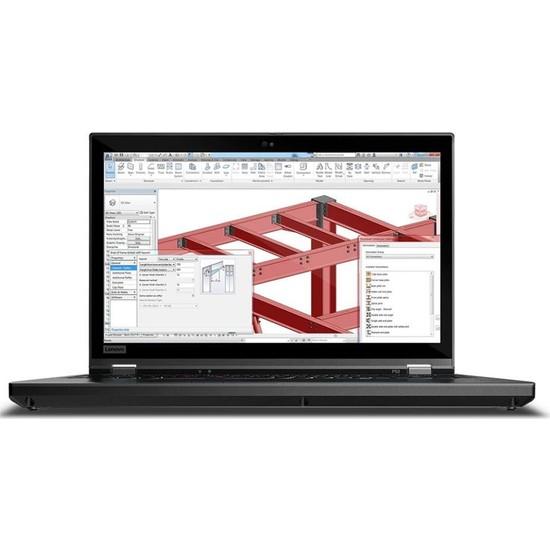 """Lenovo MWS P53 Intel Xenon E-2276M 128GB 1TB + 1TB SSD RTX5000 Windows 10 Pro 15.6"""" FHD Taşınabilir Bilgisayar 20QN003XTX04"""