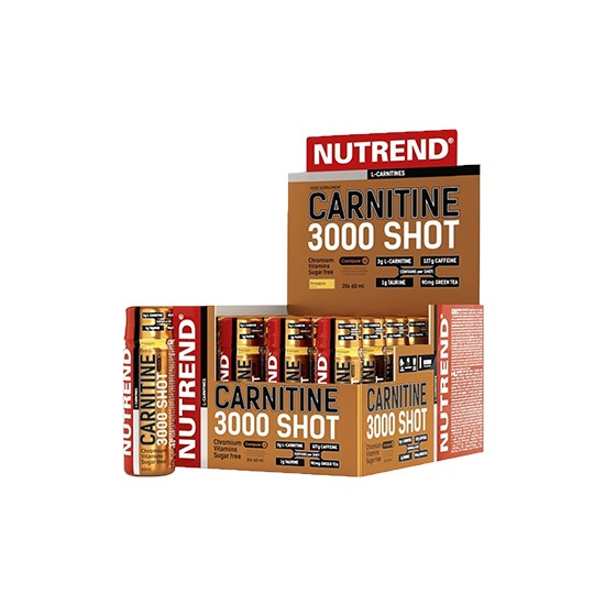 Nutrend L-Carnitine Shot 3000 mg 20 Ampül