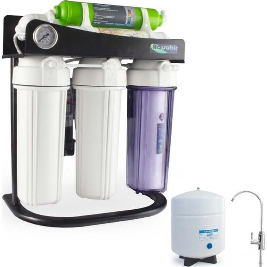 Aquabir 6A Standlı Manometreli Pompalı Su Arıtma Cihazı