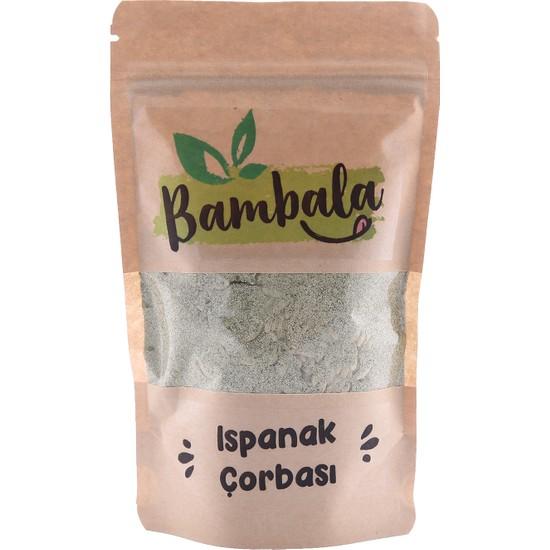 Bambala Ispanak Çorbası
