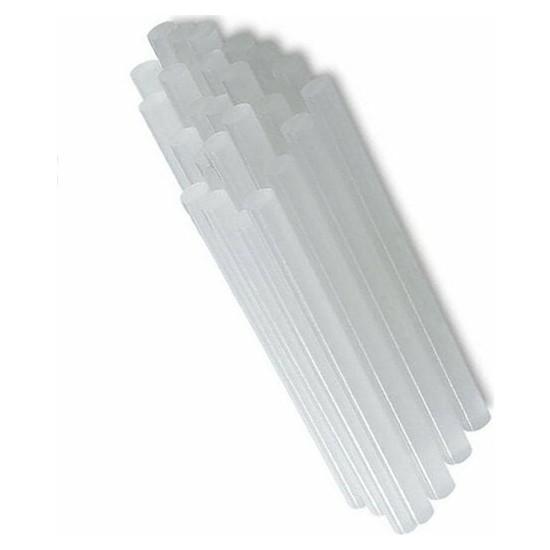 Winnboss Beyaz Ince Mum Silikon Çubuk Sıcak 12 Adet