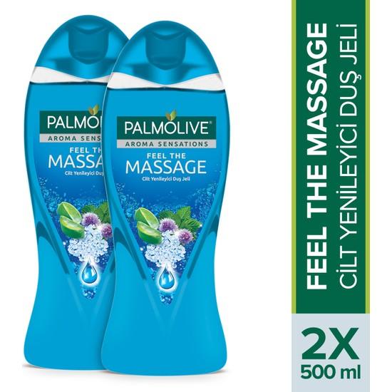 Palmolive Aroma Sensations Feel the Massage Duş Jeli 500 ml x 2 Adet