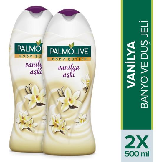 Palmolive Duş Jeli Body Butter Vanilya Aşkı 500 ml x 2 Adet