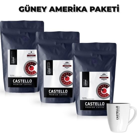 Castello Güney Amerika AeroPress Kahveleri Paketi 750 Gr
