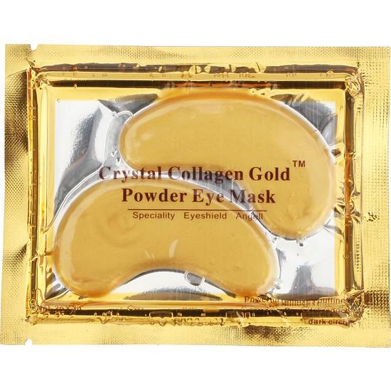 Xolo Gözaltı Altın Maske 3 Adet Kolajen Maske Gözaltı Morluk Gold Collagen