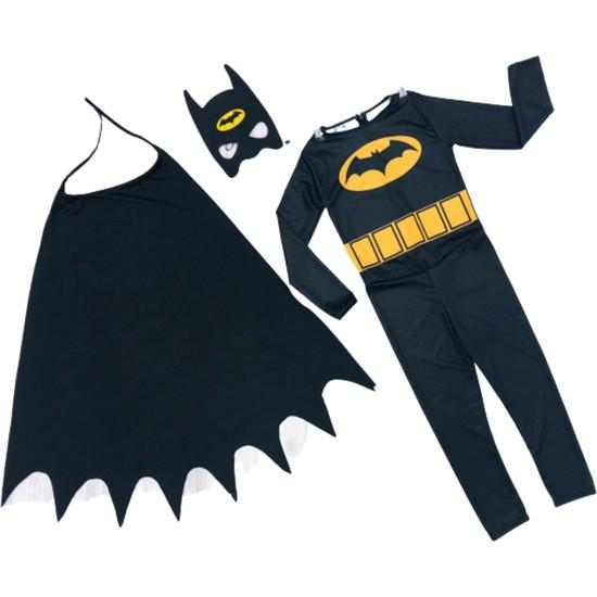 Buda Bizde Pelerinli Batman Çocuk Kostümü