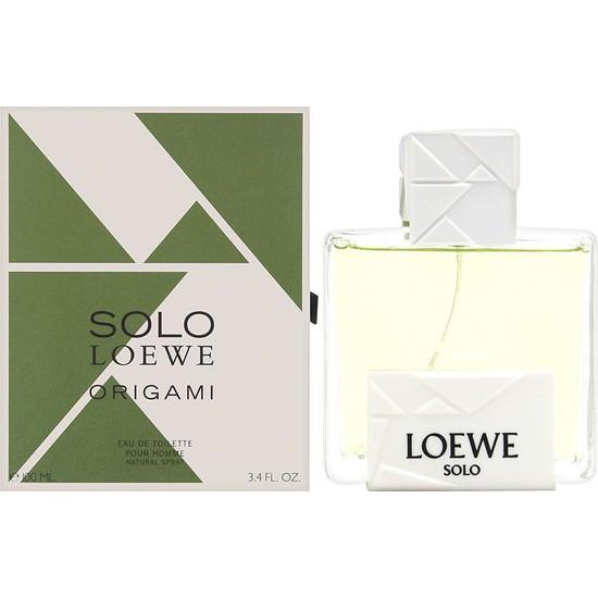 Loewe Solo Origami Edt 100 ml Erkek Parfümü