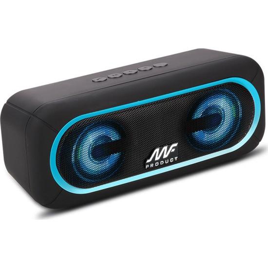 MF Product Acoustic 0124 Taşınabilir Kablosuz Bleutooth Speaker Mavi