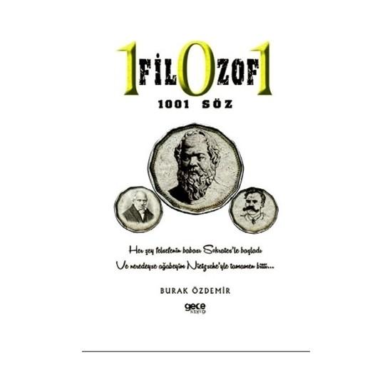 101 Filozof 1001 Söz - Burak Özdemir