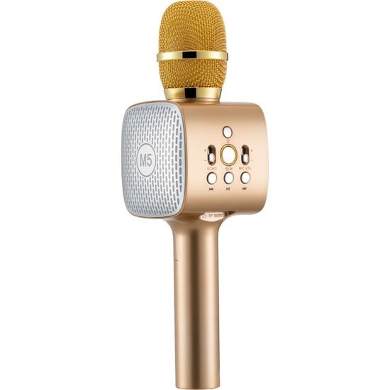 MF Product Acoustic 0254 Karaoke Mikrofon Gold